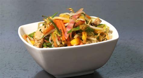 comment cuisiner des nouilles recette wok de légumes et nouilles de shirataki de konjac