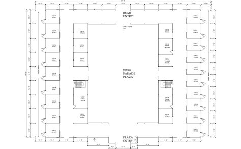 Horse Stable Floor Plans