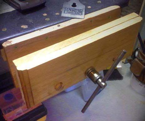 workbench vise  reclaimed scissor jack workbench