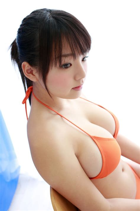 Ai Shinozaki Photo Gallery Sexy orange bikini ~ JAV Photo- Sexy Girl