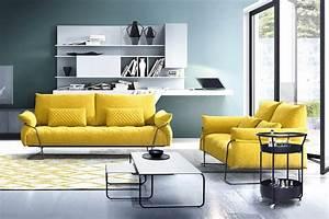 canape capitonne en cuir ou tissu story With tapis jaune avec canapé de relaxation 2 places