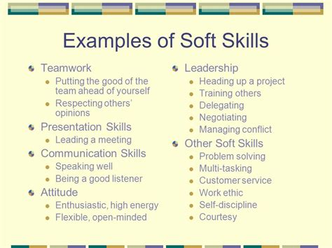 Exle Of Soft Skills In A Resume by Exles Of Team Work Thevictorianparlor Co