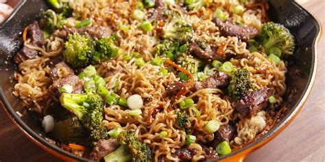 Food Recipes : How To Make Mongolian Beef Ramen