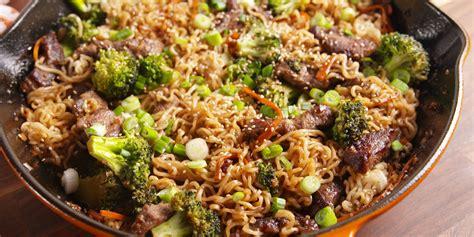 Food Recipes : How To Make Mongolian Beef Ramen
