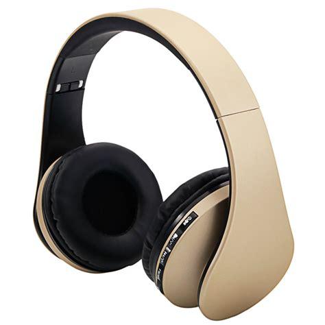 foldable wireless stereo bass fm headphones headset for