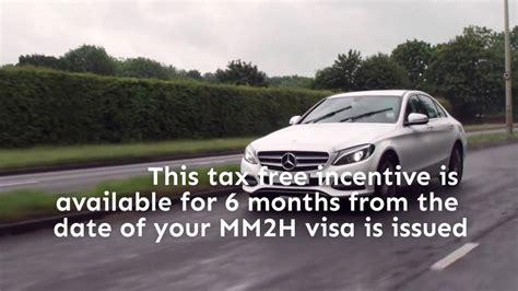 retire  malaysia   tax  car join mmh program