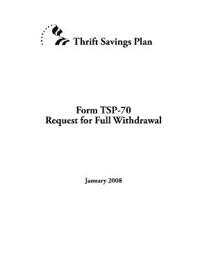 2008 form tsp 70 fill printable fillable blank