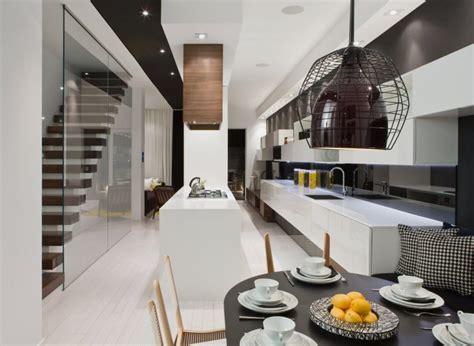 modern interior home modern house interior in white and black theme