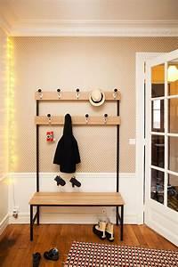 Porte Manteau Vintage : gain de place des meubles et accessoires d co pour optimiser l 39 entr e c t maison ~ Teatrodelosmanantiales.com Idées de Décoration