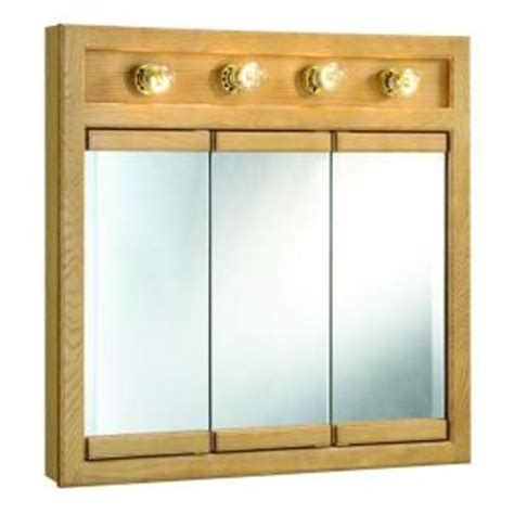 home depot medicine cabinets with lights design house richland 30 in w x 30 in h x 5 in d framed