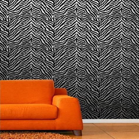 Animal Print Wallpaper For Bedrooms - zebra print wallpaper for bedrooms