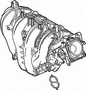 2004 Ford Focus Engine Intake Manifold  Liter