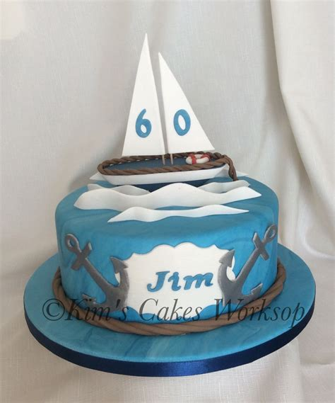 Sailing Boat Cake by Sailing Birthday Cake Cakes Pinterest Birthday Cakes