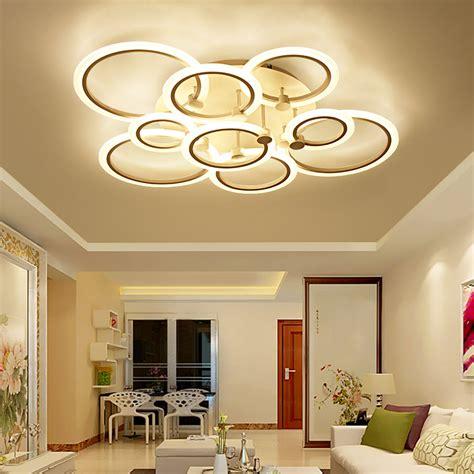 modern led ceiling lights remote control aluminum ceiling