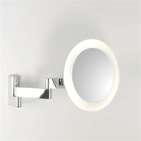 Polished Chrome Bathroom Mirrors by Astro Niimi Polished Chrome Led Bathroom Mirror