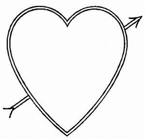 Gallery For > Arrow Heart Clipart Bla