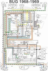 Classic Vw Beetle Diagrams : 1969 vw beetle wiring diagram 2 auto electrical vw ~ A.2002-acura-tl-radio.info Haus und Dekorationen