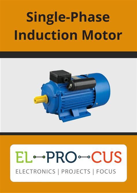 Single Phase Motor by White Paper Single Phase Induction Motor