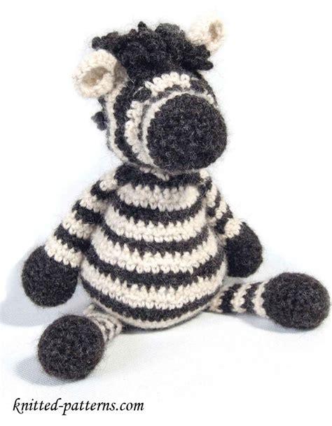 zebra toy  crochet pattern