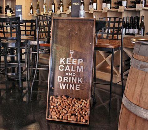 25x45 wine cork holder wall decor art quot keep calm drink