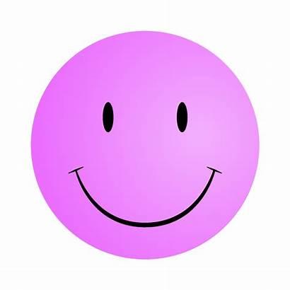 Smiley Face Pink Faces Clipart Printable Clip