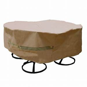 hearth garden polyester original round patio table and With polyester patio furniture covers