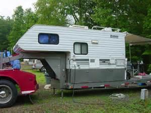 Flat Deck Gooseneck Trailers by Rv Net Open Roads Forum Truck Campers Truck Campers On