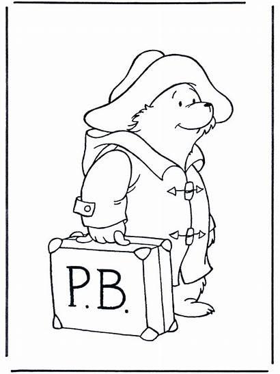 Paddington Bear Coloring Pages Colouring Printable Sheets
