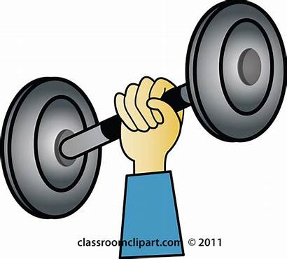 Weights Lifting Weight Clipart Clip Fitness Exercise