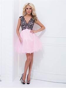 Robe Pour Mariage Chic : robe de cocktail pour mariage a ligne avec bretelles court mini rose en tulle fm861 robes ~ Preciouscoupons.com Idées de Décoration