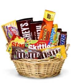 gourmet wine gift baskets everyone 39 s favorite candy basket at from you flowers