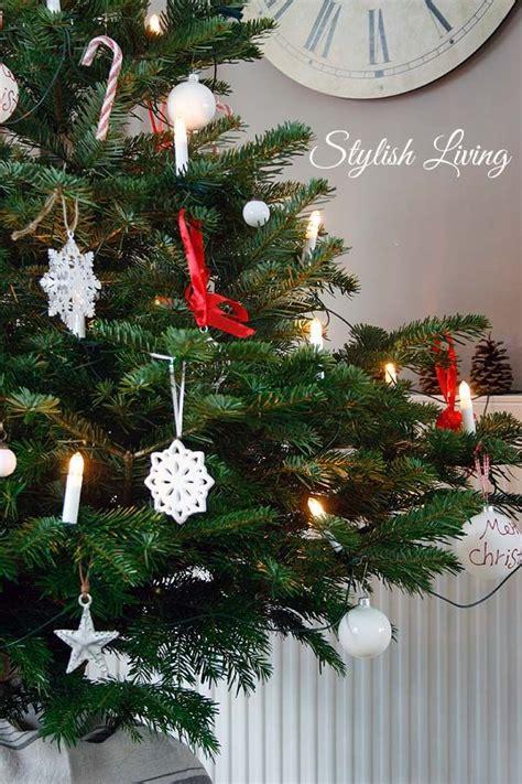 Weihnachtsbaum Rot Silber Geschmückt by Weihnachtsbaum In Rot Wei 223 My Home