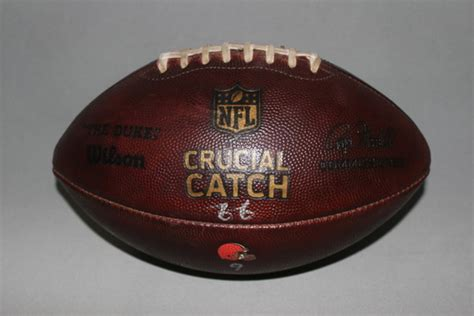 nfl auction crucial catch browns game  football