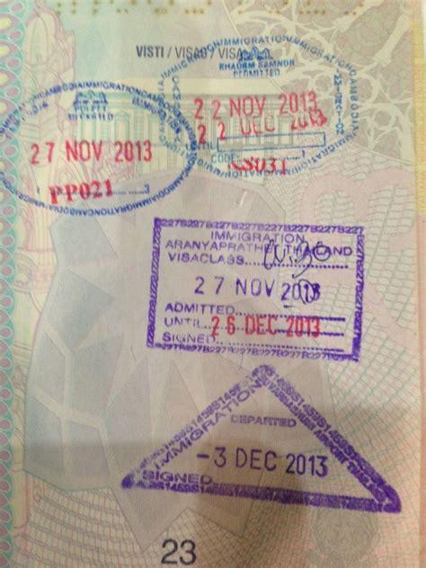 Consolato Italiano In Thailandia by Thailandia Visa On Arrival Visto E Ambasciate