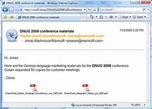 customize the look of ibm notes email documents With document mailer postage