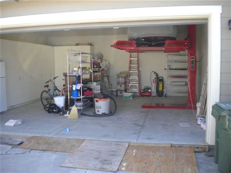 home garage lift home garage auto lift the mustang source ford mustang