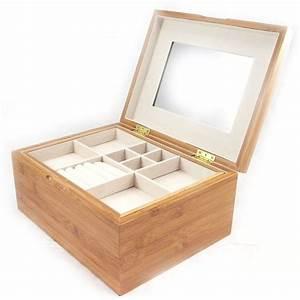 Boite A Bijoux : boite a bijoux en bois visuel 1 ~ Teatrodelosmanantiales.com Idées de Décoration