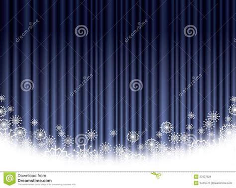 fond bleu de rideau en no 235 l image stock image 27037521