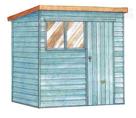 8 X 10 Slant Roof Shed Plans by Edim 8x10 Shed Plans 10x14 Details