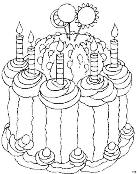 kerzen torte ausmalbild malvorlage gemischt