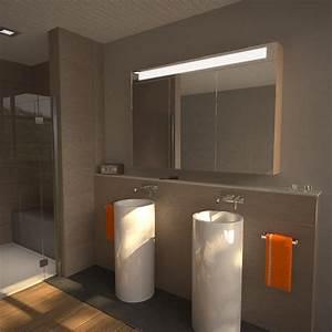 Badezimmer Spiegelschrank Beleuchtet Big 989705241