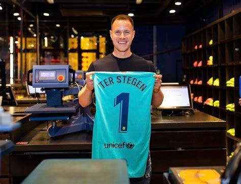 barcelona goalkeeper home kit released footy headlines