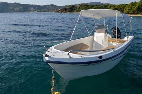 In A Boat by Tzema 6 5 50 60hp 4stroke Skiathos Boats