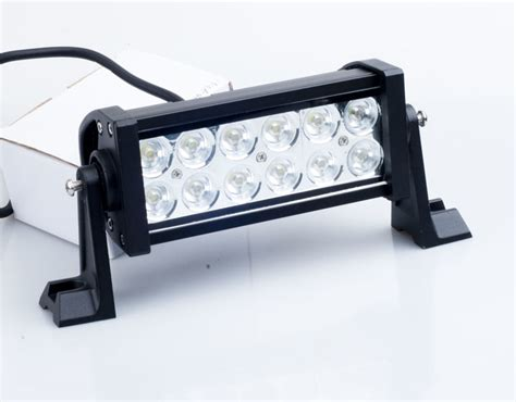 china 36w led bar light led work light bar flood beam