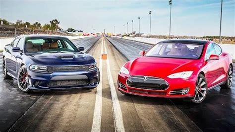 Tesla Vs Hellcat