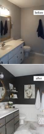 bathroom remodel ideas before and after 10 before and after bathroom remodel ideas for 2016 2017 decoration y