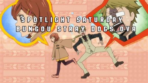 spotlight saturday bungou stray dogs hitori ayumu ova