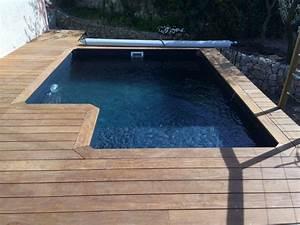 Petite Piscine Hors Sol Bois : 8 best mini piscines en bois images on pinterest petite ~ Premium-room.com Idées de Décoration