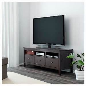 Ikea Table Tv : hemnes tv bench black brown 148 x 47 x 57 cm ikea ~ Teatrodelosmanantiales.com Idées de Décoration