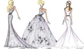 Wedding Dress Design Sketches